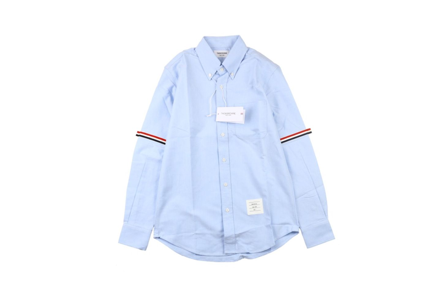 "Shirt Thom Browne 20ss arm web shirt ""Light Blue"" 1 1"
