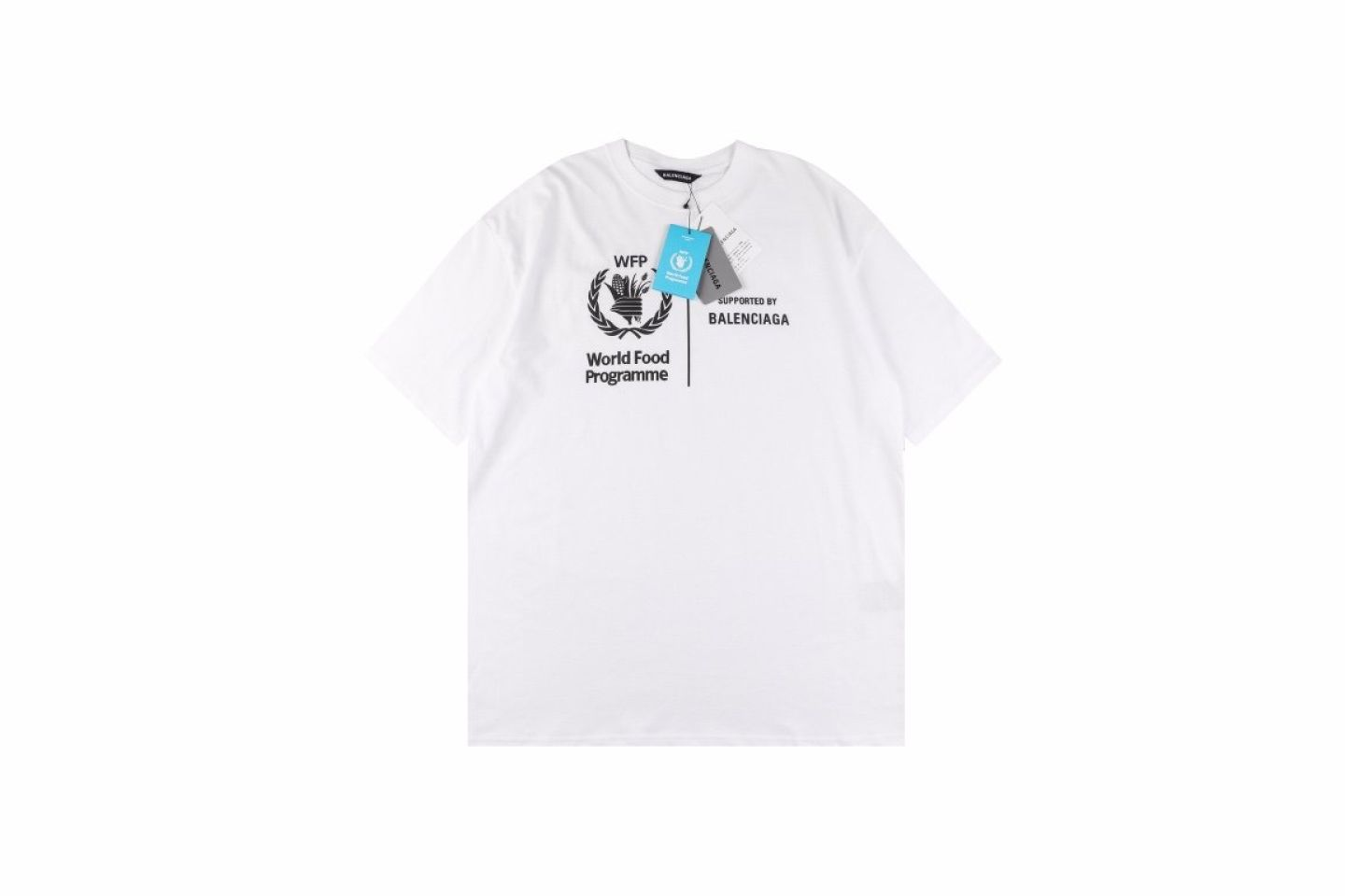 """Shirt Belancaiga 20SS Food Project Charity Fund """"White""""  1 1"""
