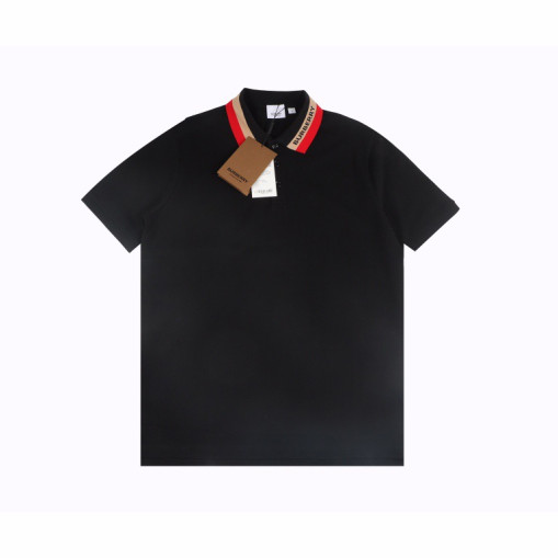 Burberry 21SS Classic Neckline Embroidered Short Sleeve Polo