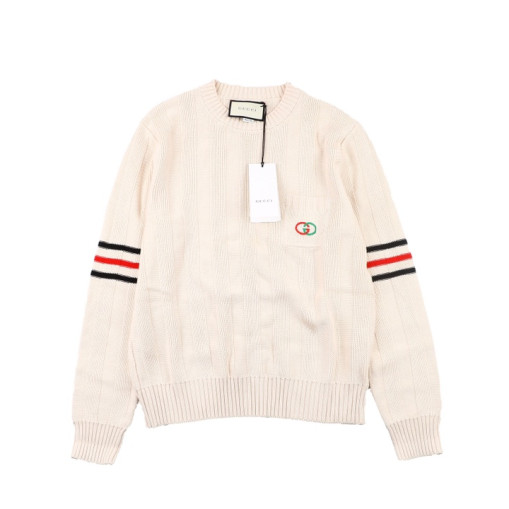 Gucci 2020FW British college style sweater