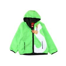 Supreme x The North Face S Logo Hooded Fleece Jacket Green