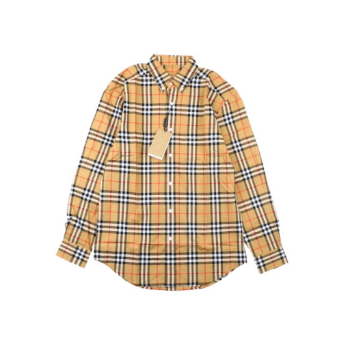 Burberry 18ss classic basic small check shirt