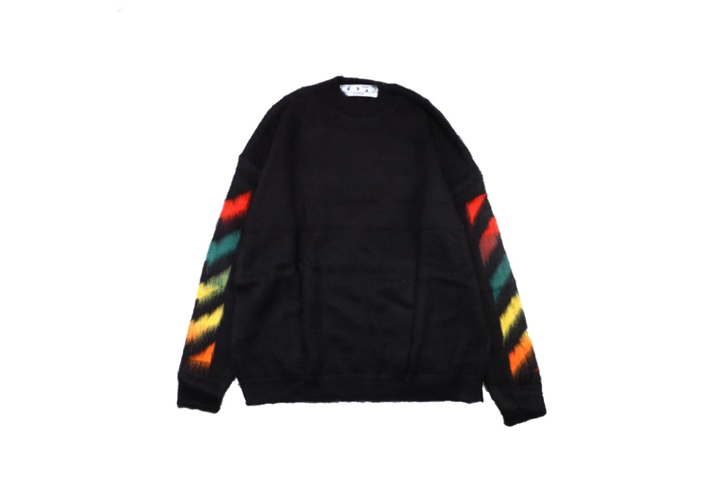 """Shirt Off-White 20SS mohair sweater """"Multicolor"""" 1 1"""