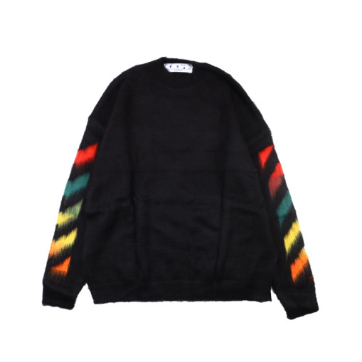 OffWhite 20SS mohair sweater Multicolor