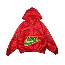 19FW Supreme  Nike Leather Exclusive Red