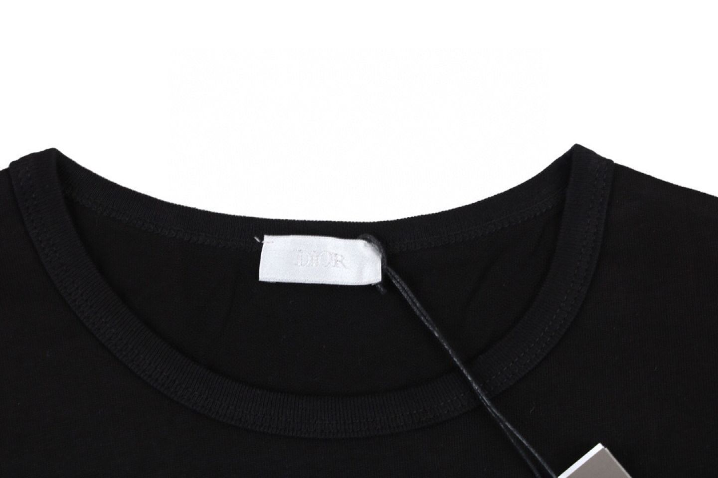 READY STOCK Dior Gradient Letter T-Shirt 3 1_3