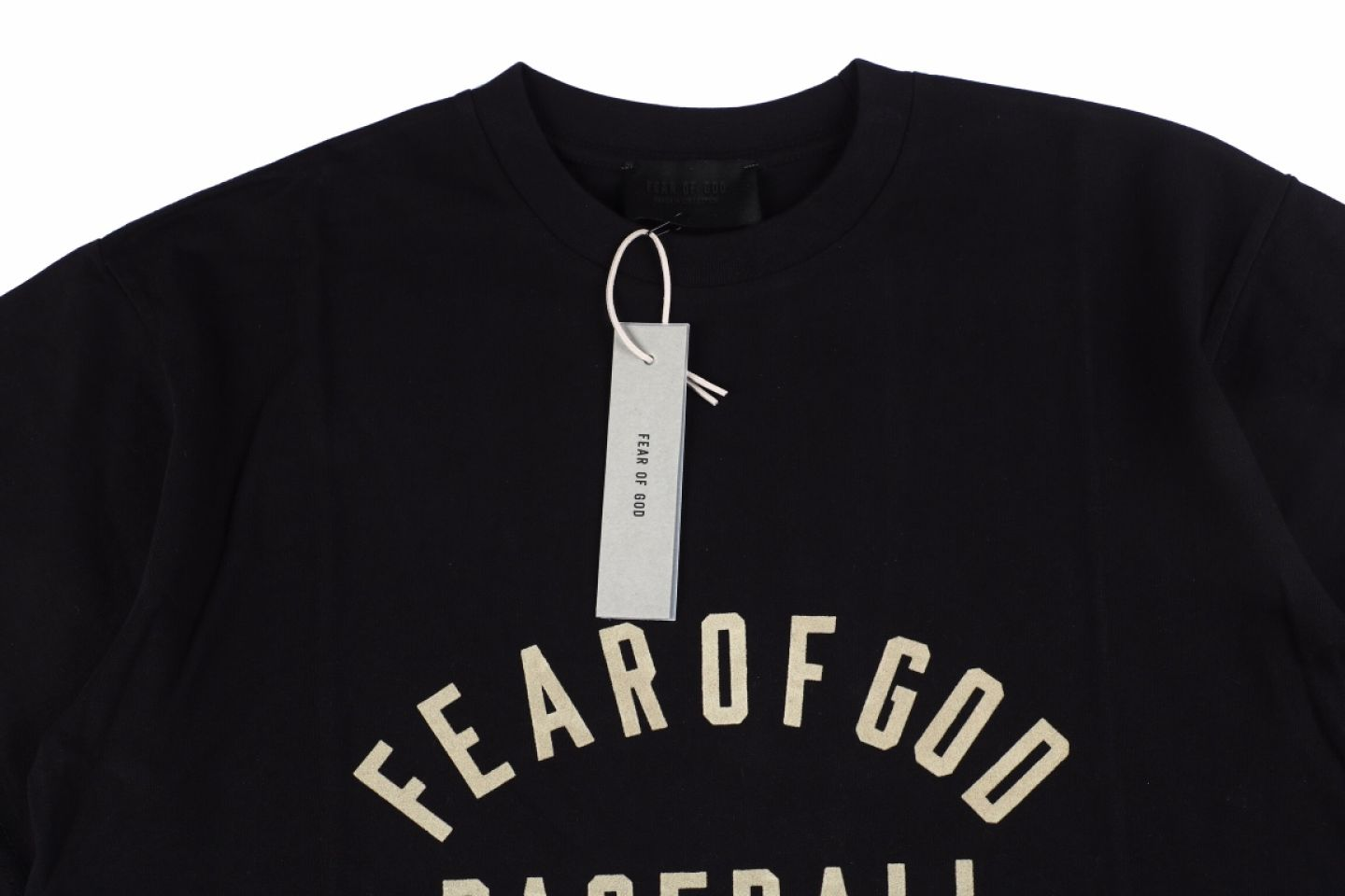 Shirt Fear of God classic letter logo printing ree on chest 3 2
