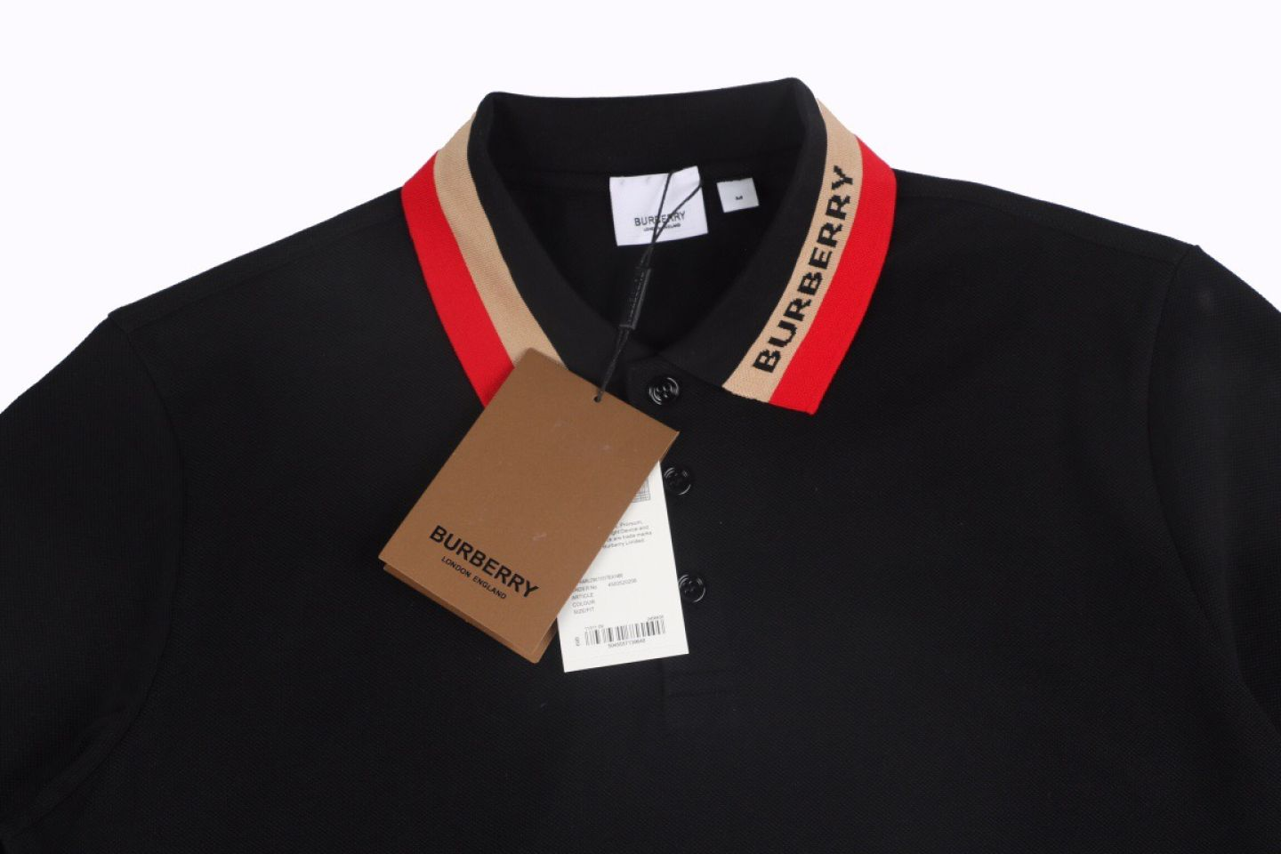 Shirt Burberry 21SS Classic Neckline Embroidered Short Sleeve Polo 2 2