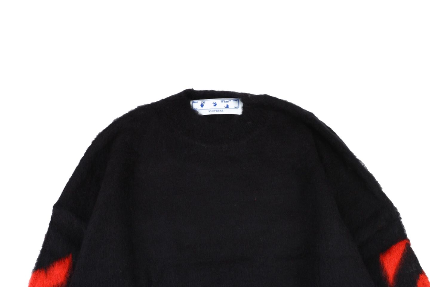 """Shirt Off-White 20SS mohair sweater """"Multicolor"""" 2 2"""