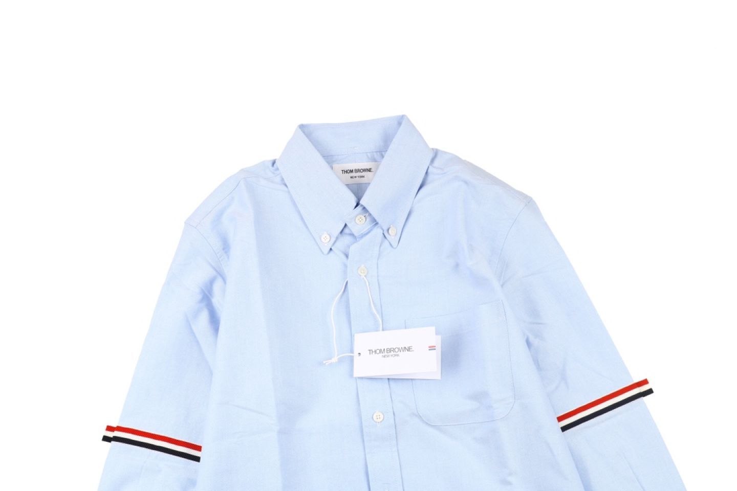 "Shirt Thom Browne 20ss arm web shirt ""Light Blue"" 2 2"