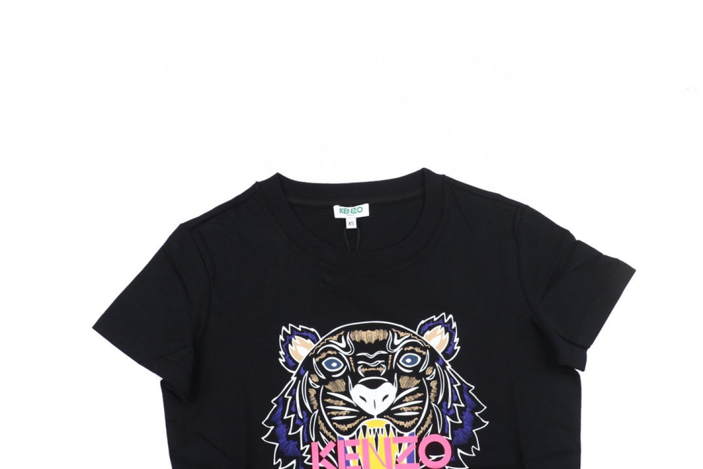 Shirt 2020 kenzo T-shirt Black Pink Purple 4 2020_kenzo_t_shirt_black_pink_purple_4