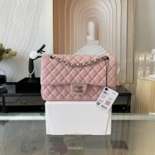 Chanel PreOwned Double flap shouldher bag  soft pink