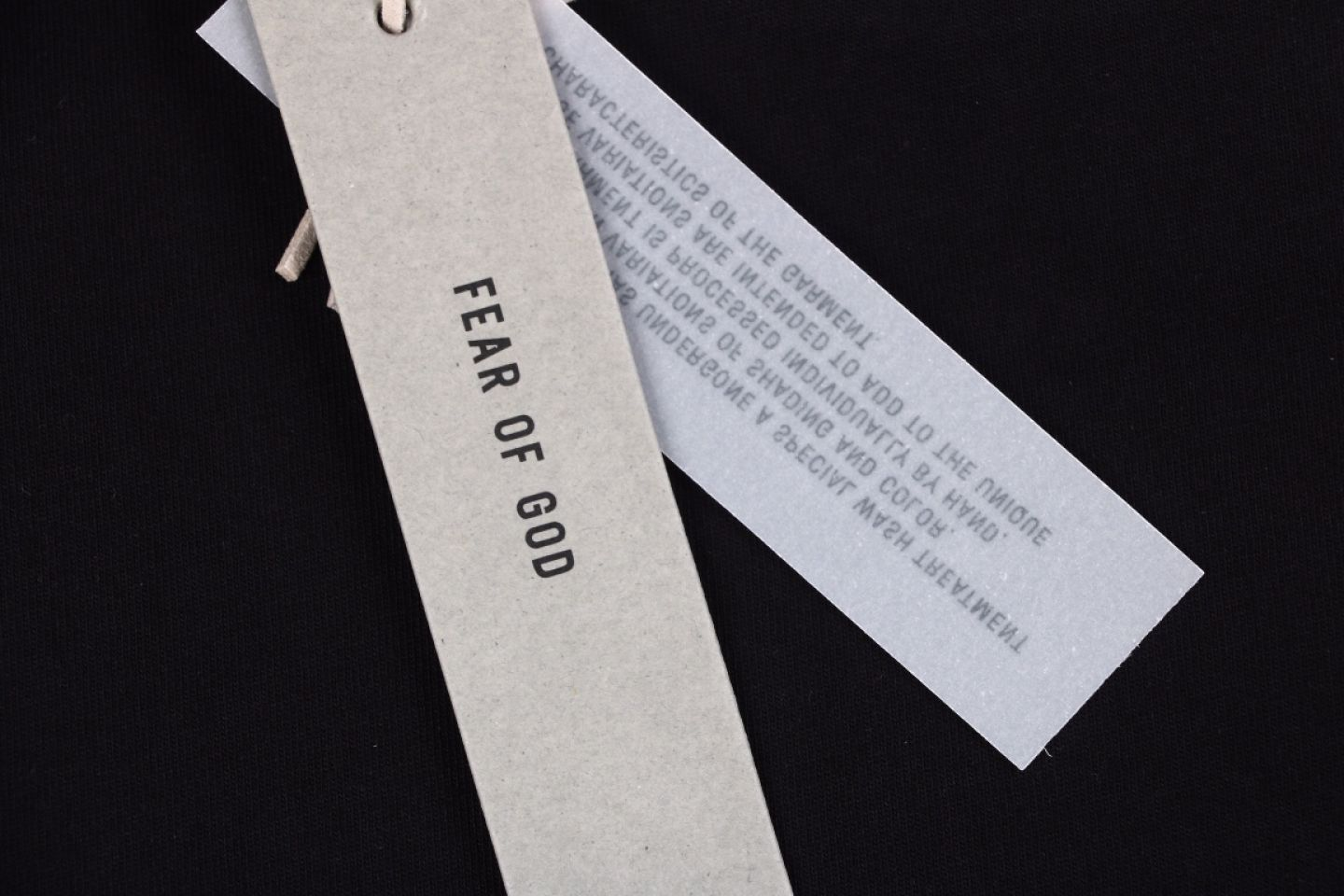 Shirt Fear of God classic letter logo printing ree on chest 4 3