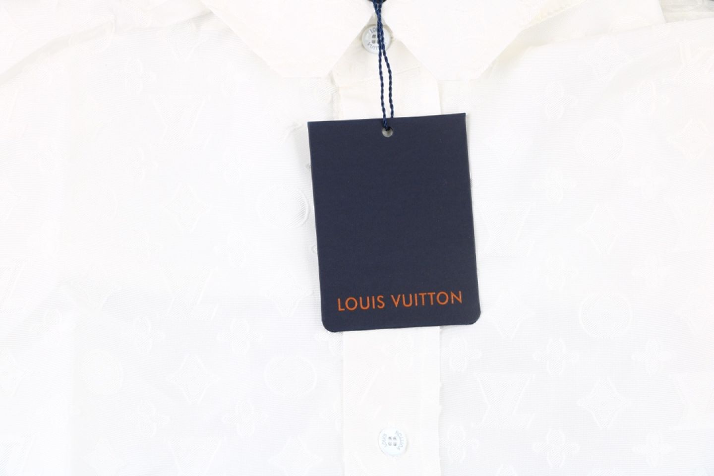 Shirt Louis Vuitton 20fw white full print jacquard shirt 3 3