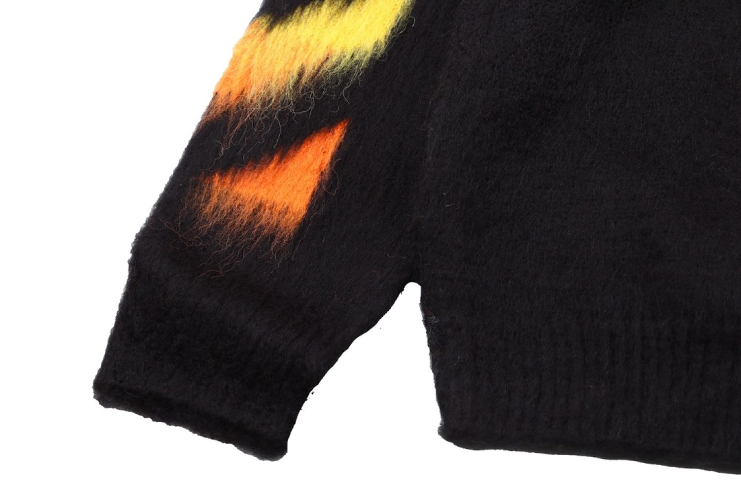 """Shirt Off-White 20SS mohair sweater """"Multicolor"""" 4 4"""