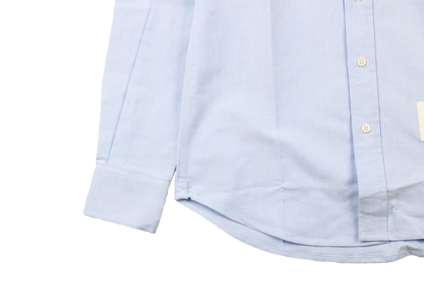 "Shirt Thom Browne 20ss arm web shirt ""Light Blue"" 4 4"