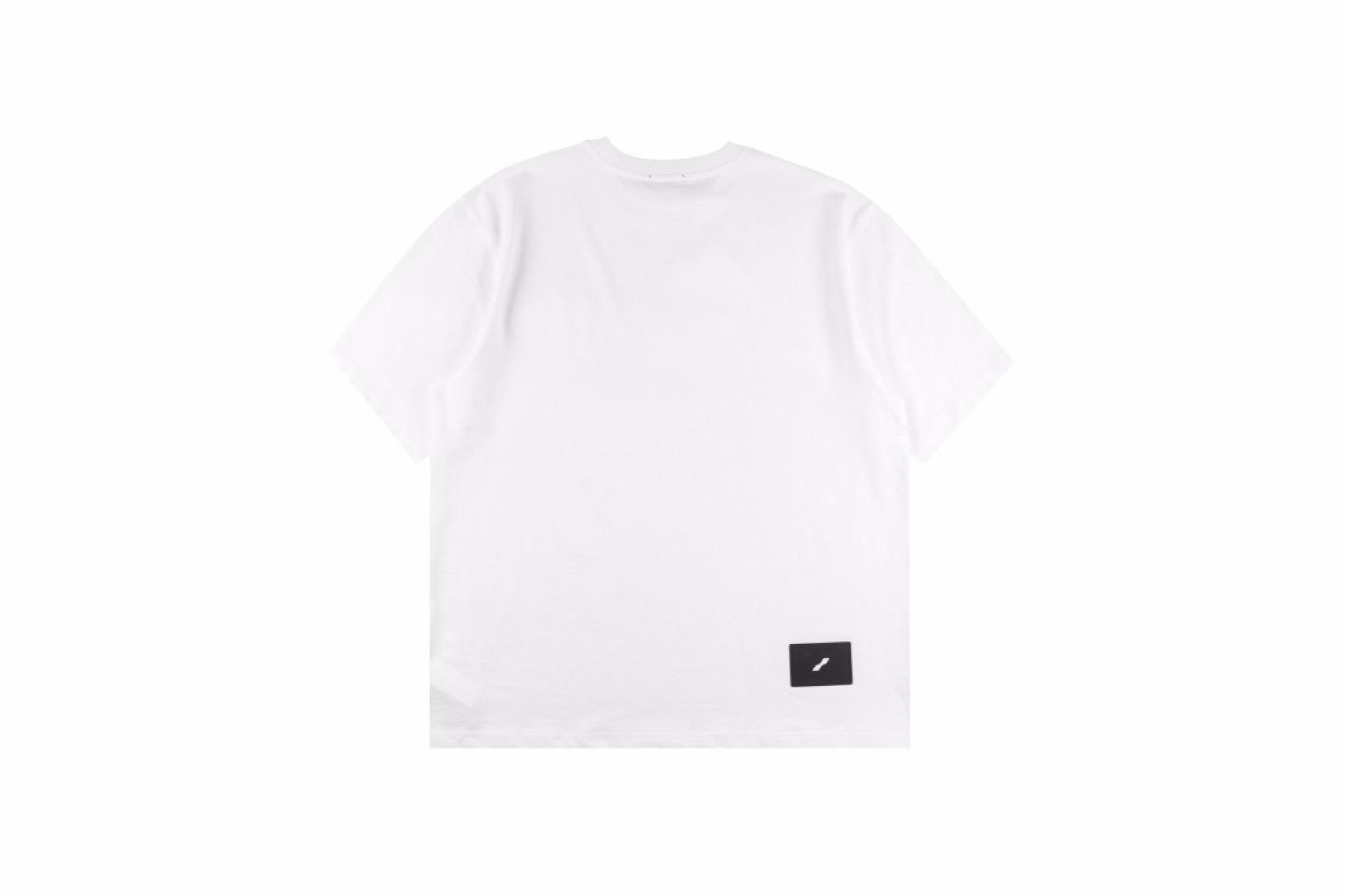 """Shirt Well Done 21SS three-dimensional striped short-sleeved T-shirt """"White"""" 5 5"""