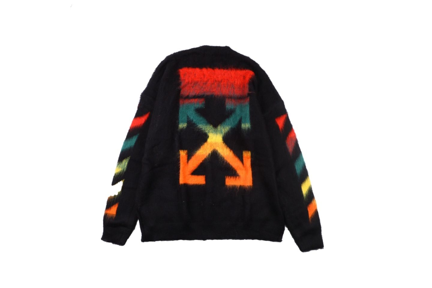 """Shirt Off-White 20SS mohair sweater """"Multicolor"""" 5 5"""