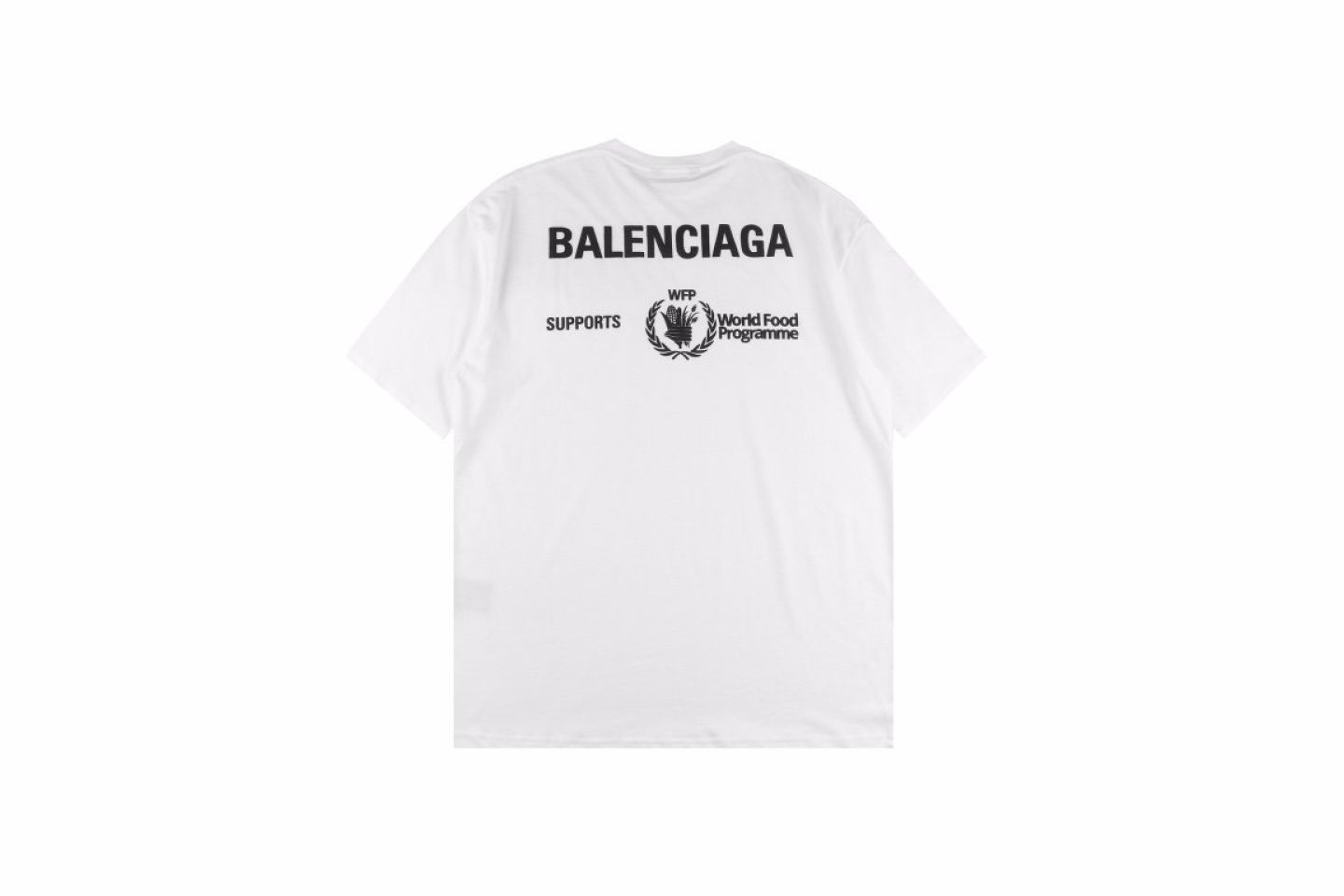 """Shirt Belancaiga 20SS Food Project Charity Fund """"White""""  5 5"""