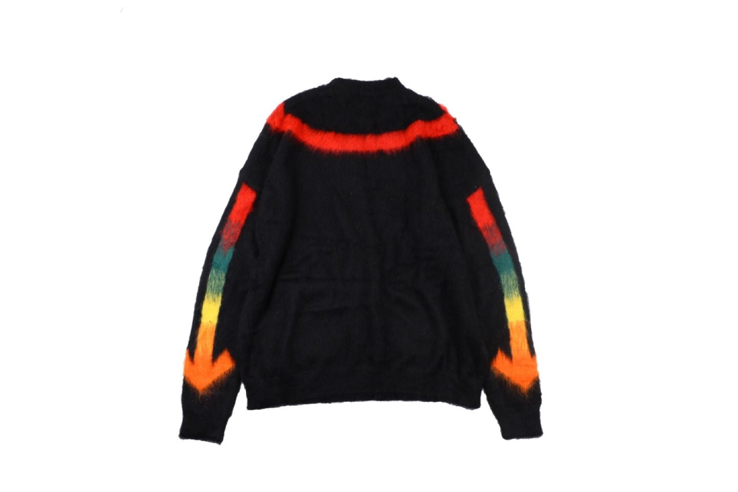 """Shirt Off-White 20SS mohair sweater intarsia jaqcuard """"Multicolor"""" 5 5"""