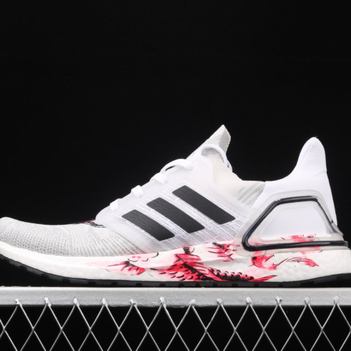 Adidas Ultra Boost 20 Chinese New Year White