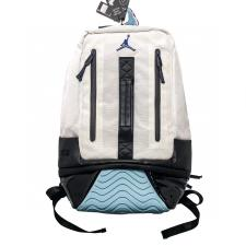 Air Jordan 10 Jordan Vintage Backpack Black and White Steel