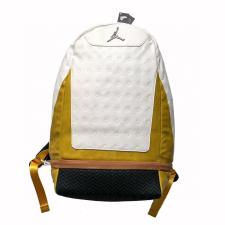 Air Jordan 13 White  Yellow Backpack