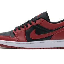 Air Jordan 1 Low Black Gym Red