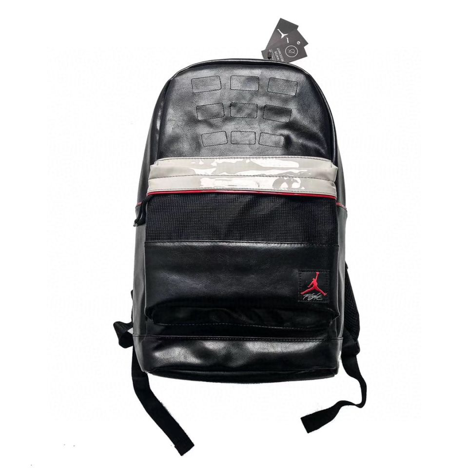 "Goods AIR JORDAN 4 Travel Sports Backpack School Bag ""Black"" 1 air_jordan_4_travel_sports_backpack_school_bag_black__1"