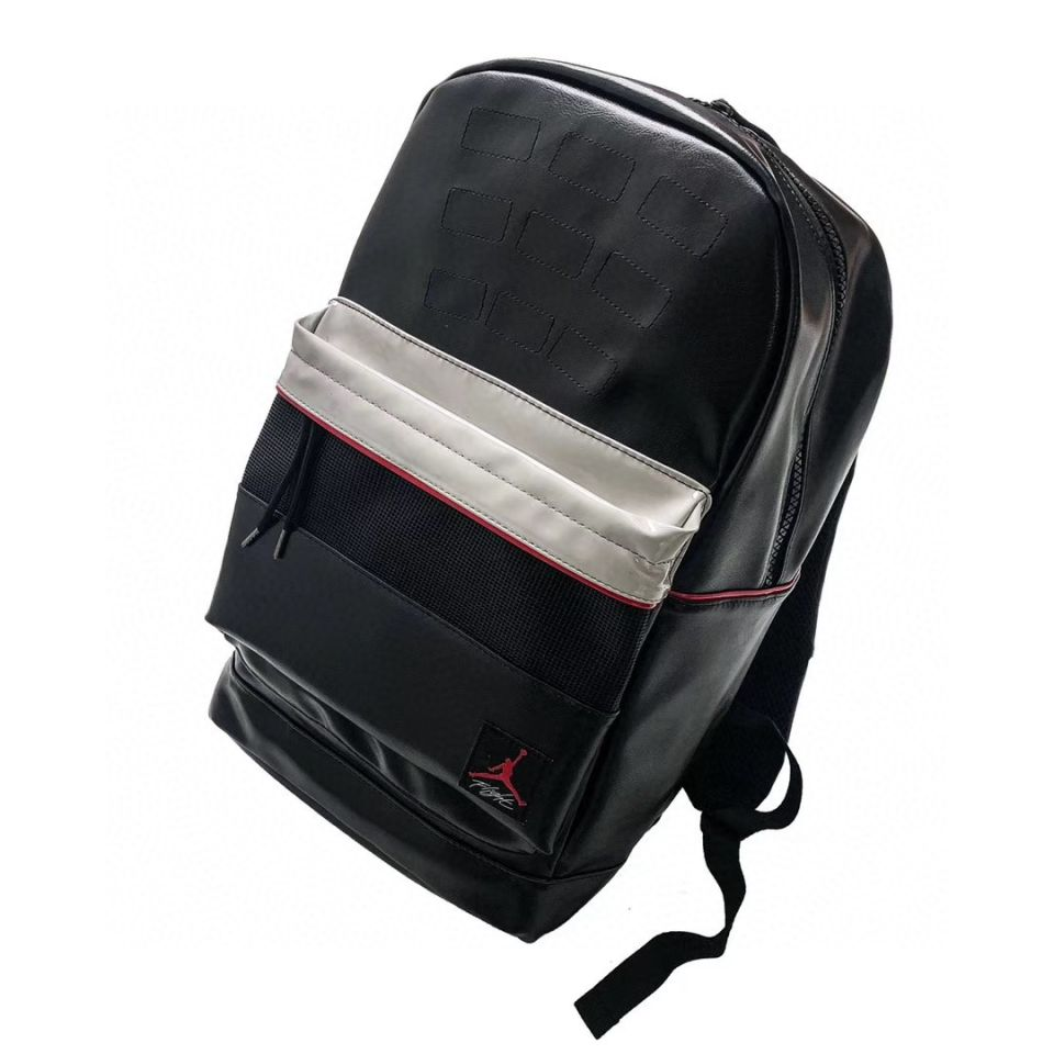 "Goods AIR JORDAN 4 Travel Sports Backpack School Bag ""Black"" 4 air_jordan_4_travel_sports_backpack_school_bag_black__4"