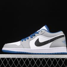 Air Jordan Retro 1 Low True Blue Cement