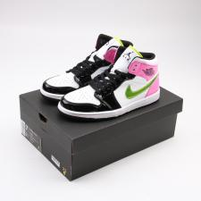 Air Jordan Retro 1 Mid Patent MultiColor