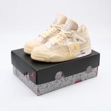 Air Jordan Retro 4 x OffWhite Sail