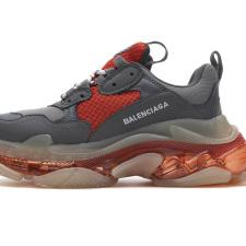 Balenciaga Triple S Grey Red