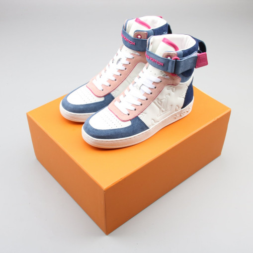 Boombox Sneaker Boot White Blue