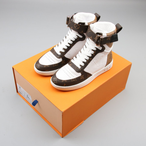 Boombox Sneaker Boot White Brown