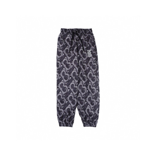 Burberry 20fw 3D jacquard full print limited edition trousers