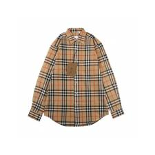 Burberry 20fw classic plaid shirt
