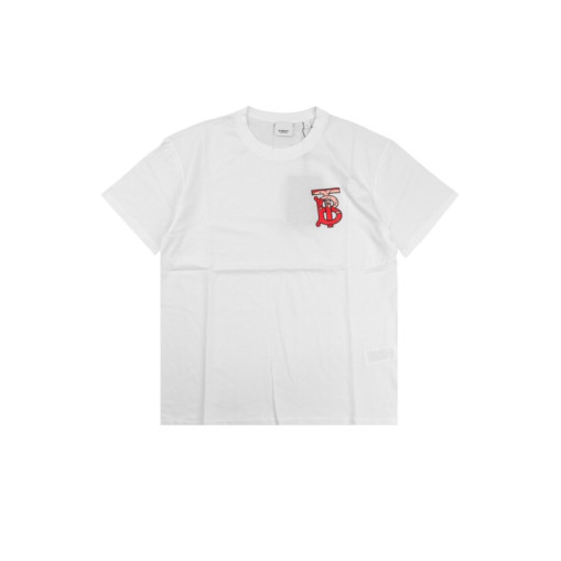 Burberry 20ss Ratlimited BT White Short Sleeve