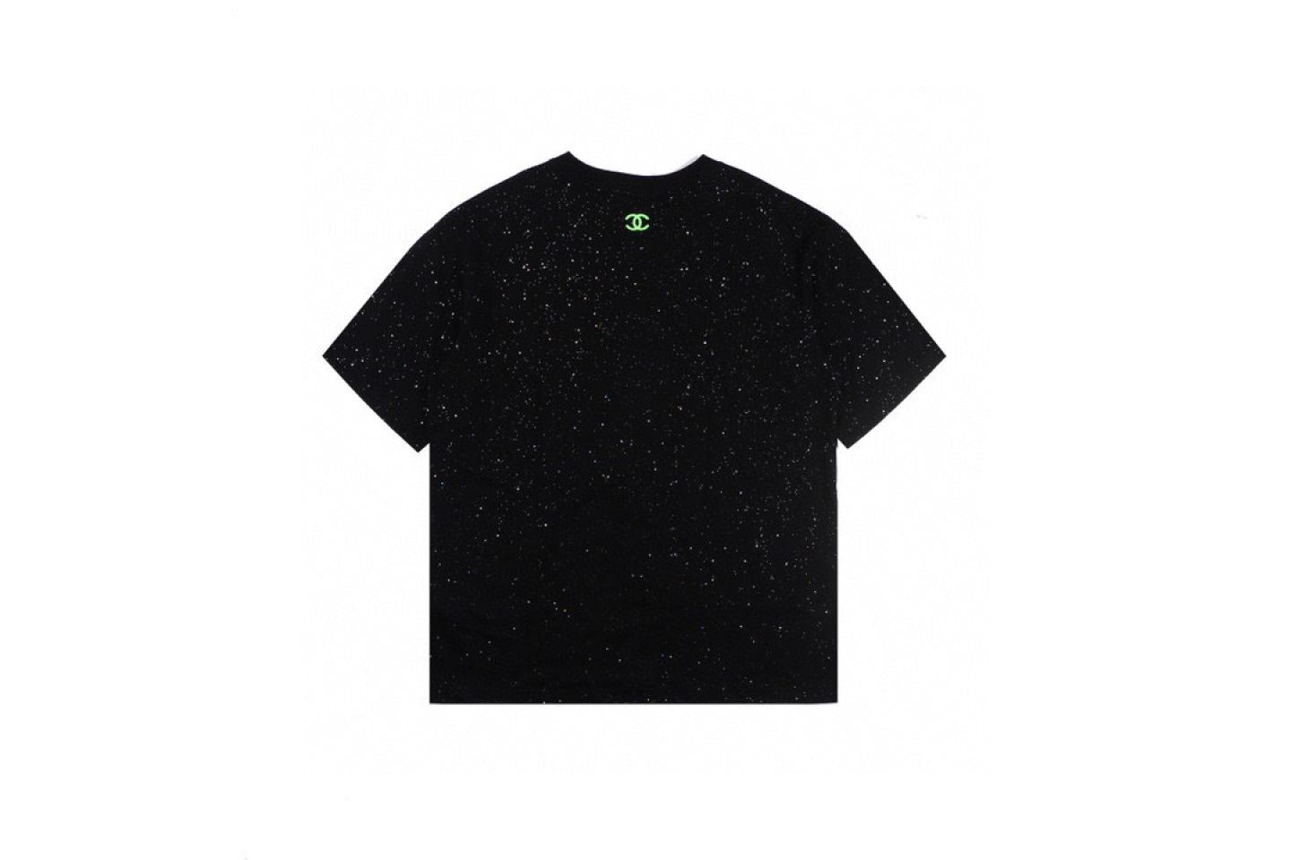 Shirt CHANEL20Ss starry green fluorescent embroidery short sleeve 5 chanel20ss_starry_green_fluorescent_embroidery_short_sleeve__5