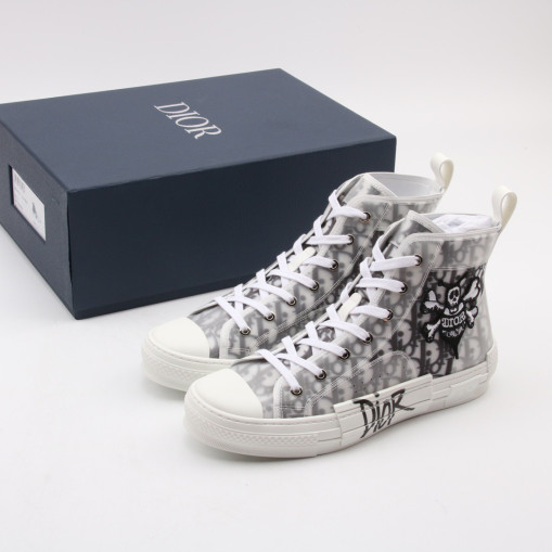 Dior and Shawn B23 High Top Bee Embroidery