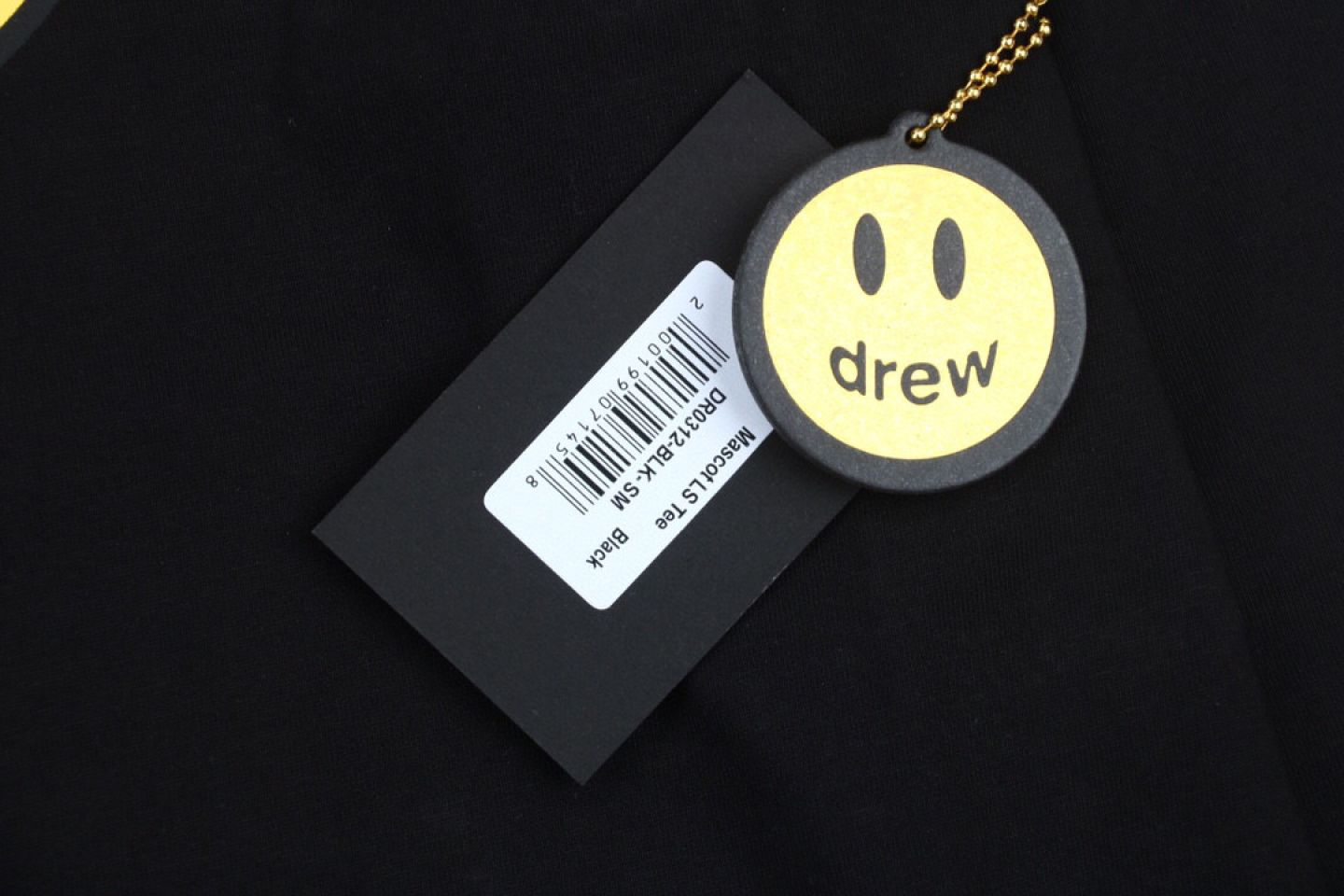 """Shirt Drew House 2020 classic smiley face long sleeve T-shirt """"Black"""" 3 drew_house_2020_classic_smiley_face_long_sleeve_t_shirt_black_3"""