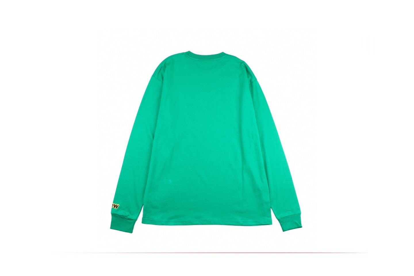 "Shirt Drew House 2020 classic smiley face long sleeve T-shirt ""Green"" 5 drew_house_2020_classic_smiley_face_long_sleeve_t_shirt_green_5"