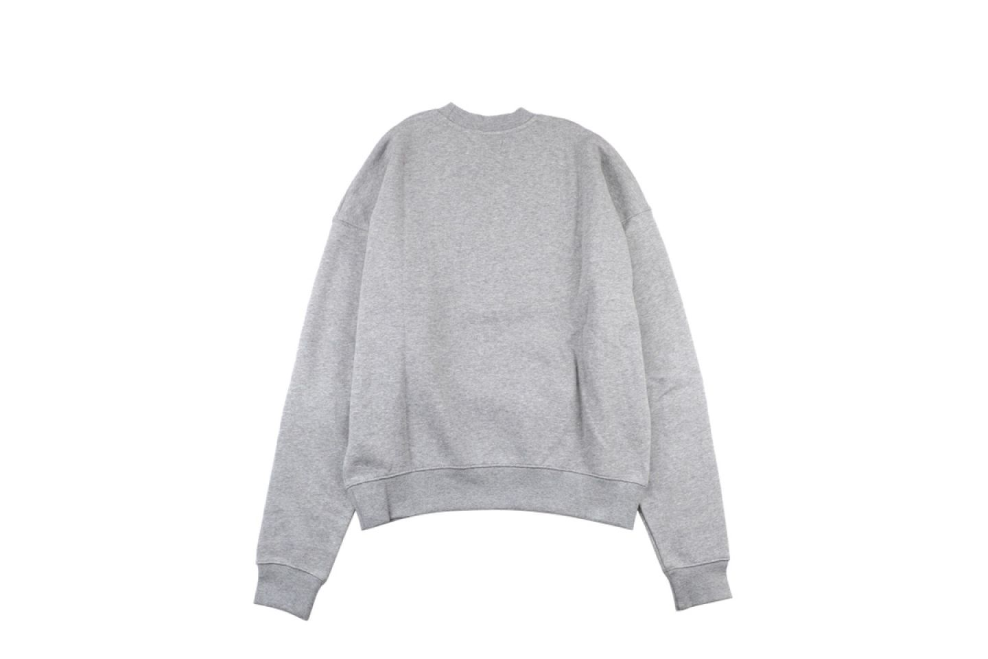 "Shirt Fear Of God Essential double line crew neck sweater ""Grey"" 5 fear_of_god_essential_double_line_crew_neck_sweater_grey_5"