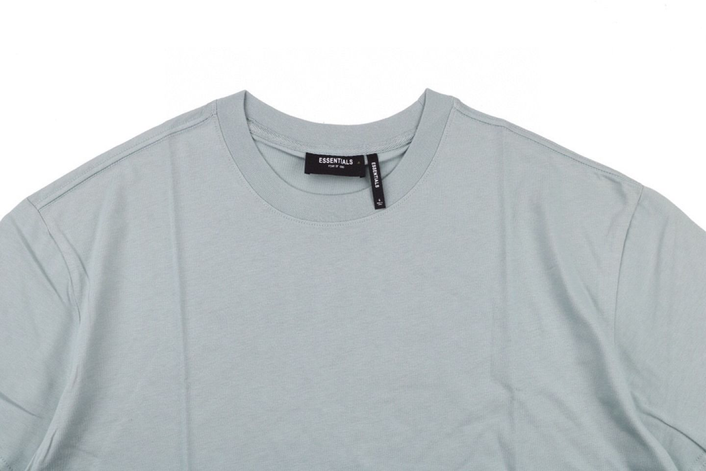 Shirt FEAR OF GOD ESSENTIALS 6 multi-line 3M reflective short-sleeved T-shirt mint 2 fear_of_god_essentials_6_multi_line_3m_reflective_short_sleeved_t_shirt_mint__2