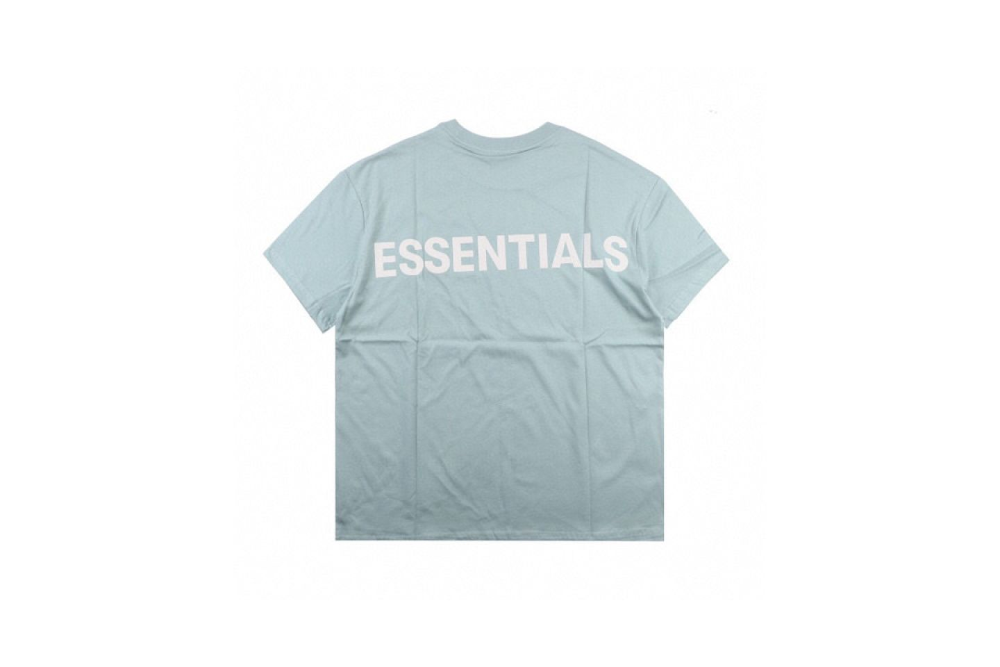 Shirt FEAR OF GOD ESSENTIALS 6 multi-line 3M reflective short-sleeved T-shirt mint 5 fear_of_god_essentials_6_multi_line_3m_reflective_short_sleeved_t_shirt_mint__5