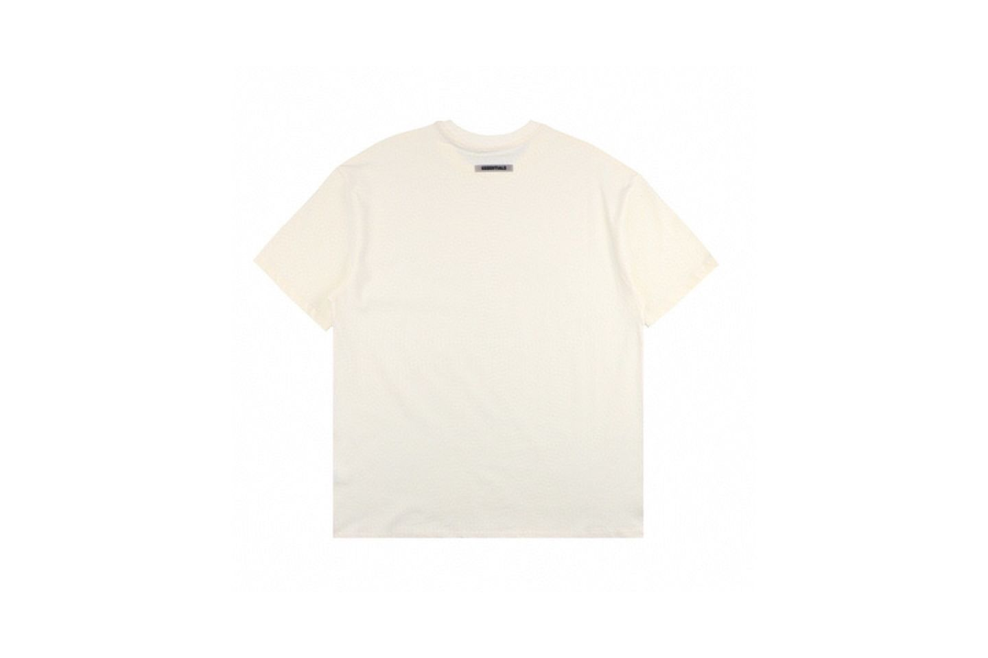 """Shirt Fear Of God ss20 ESSENTIALS double-line chest letter short-sleeved T-shirt """"White"""" 5 fear_of_god_ss20_essentials_double_line_chest_letter_short_sleeved_t_shirt_white_5"""