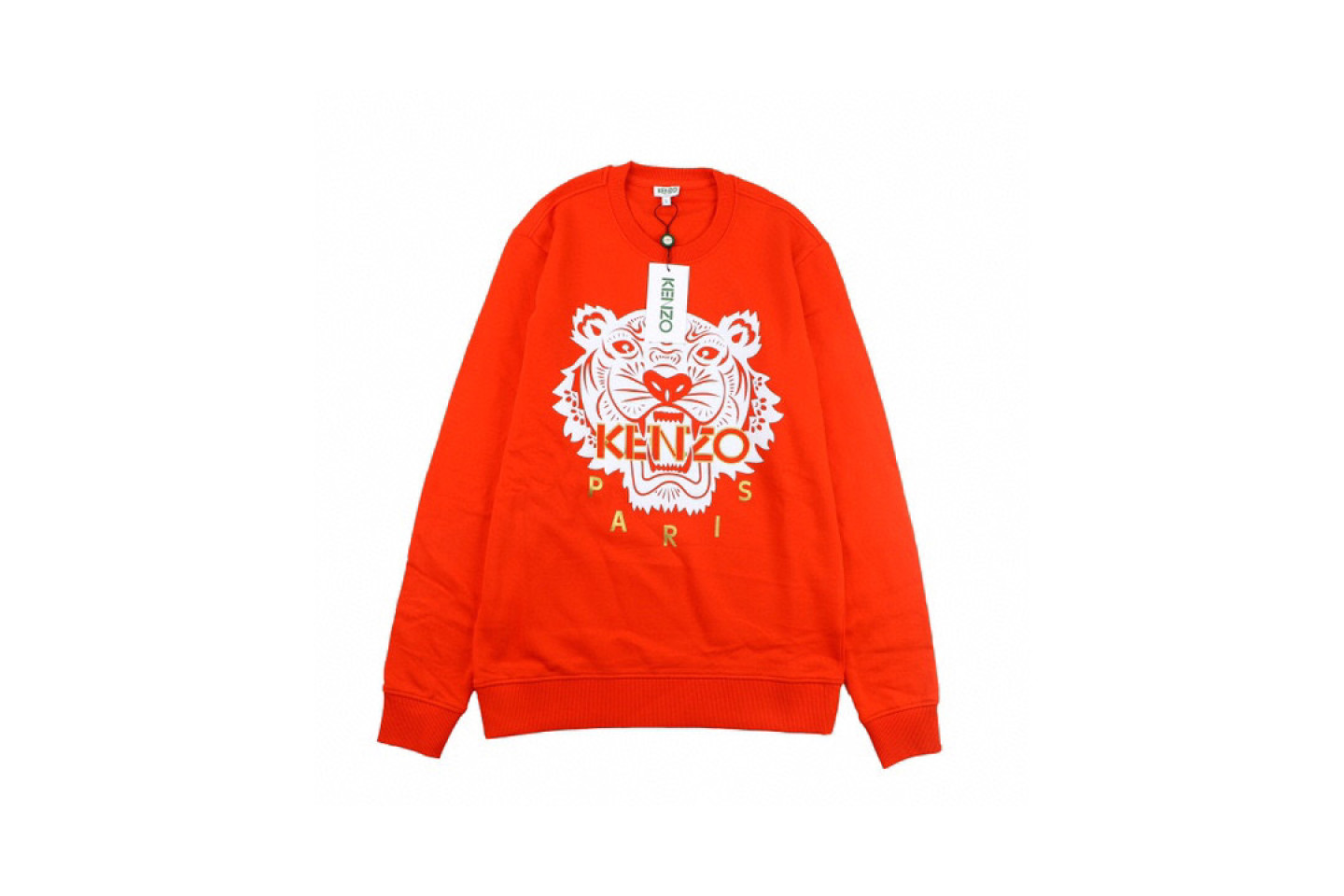 Shirt Genuine kenzo black gold and red tiger head sweater 1 genuine_kenzo_black_gold_and_red_tiger_head_sweater_1
