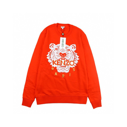Genuine kenzo black gold and red tiger head sweater