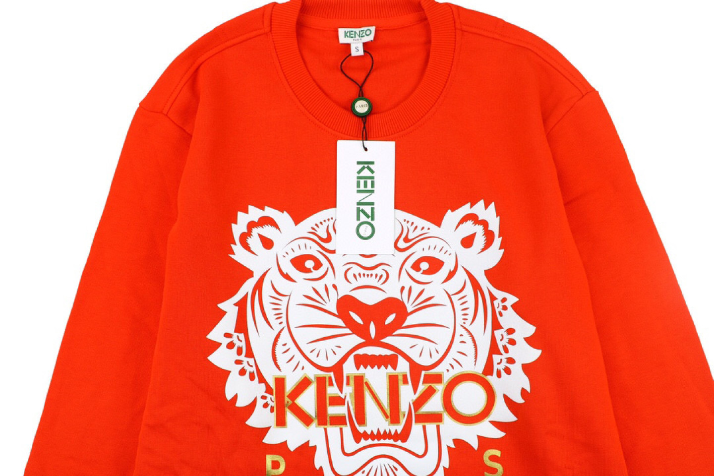 Shirt Genuine kenzo black gold and red tiger head sweater 2 genuine_kenzo_black_gold_and_red_tiger_head_sweater_2